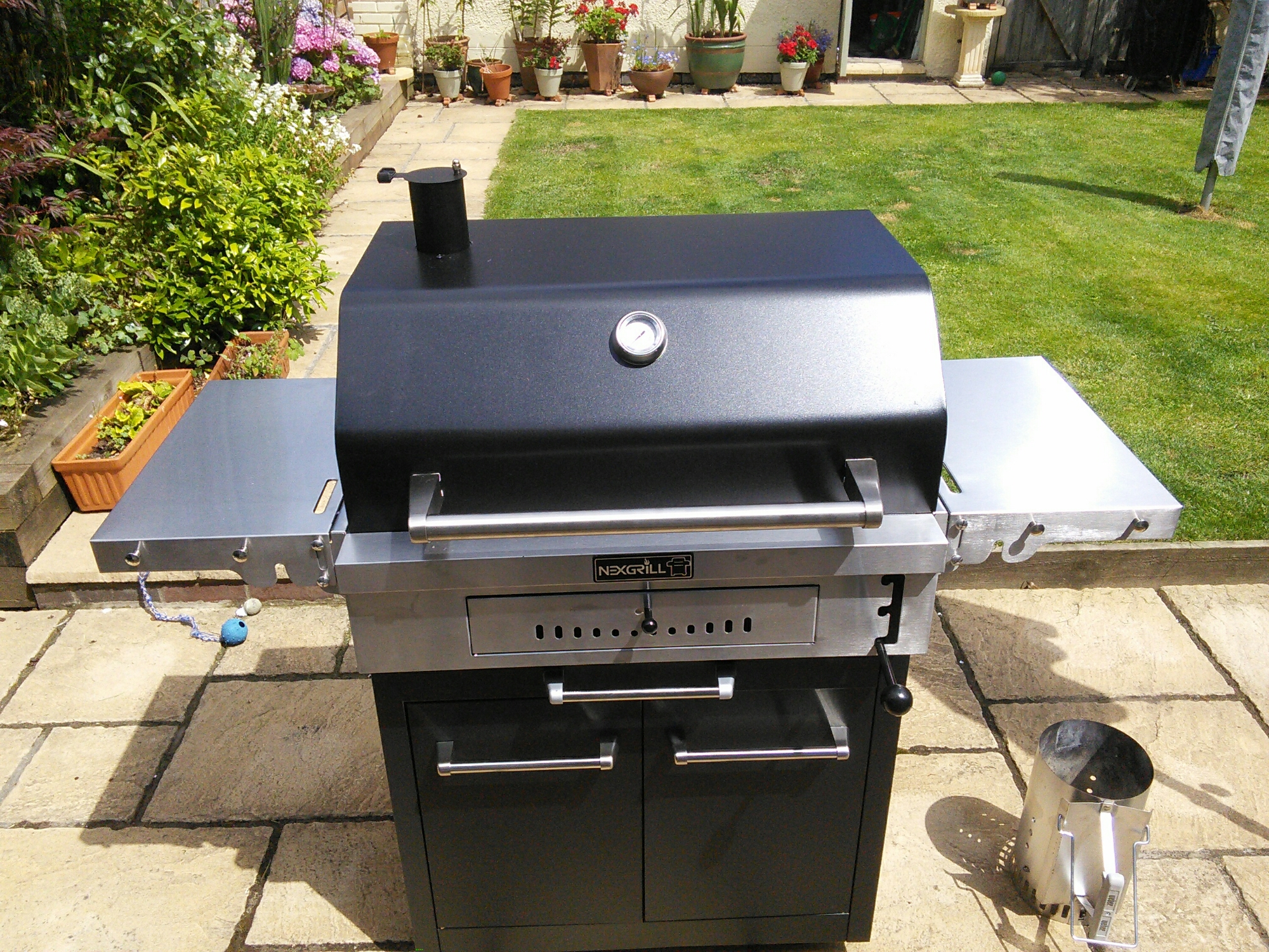 Bbq behemoth my new nexgrill charcoal grill updated for Modern barbecue grill